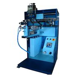 Semi Automatic Round Fridge Bottle Printing Machine