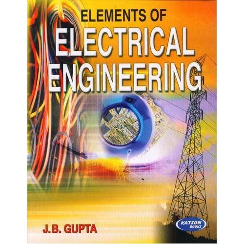 elements of electrical engineering books s k kataria sons