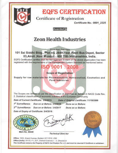 Zeon-health Industries/ Zeon Drugs Private Limited - Manufacturer