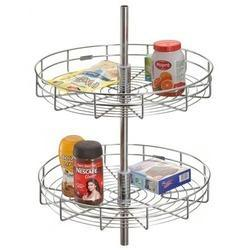 Full Round Kitchen Carousel At Rs 1650 /set | Kitchen Carousel Unit | ID:  7620295448