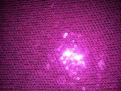 Tone to Tone Sequin Embroidered Fabric