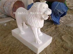 Marble Lion Animal