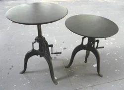 Iron Adjustable Table