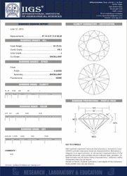 Diamond Grading Report Full