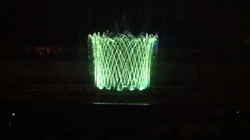 Musical Fountain Cross Jet Effect