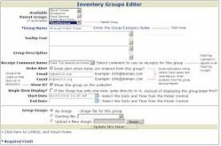 Inventory Groups