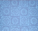 Blue Dabu Print Fabric