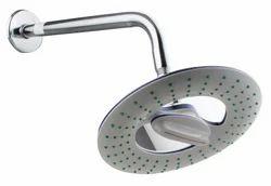 8 Inch Round White Holder Shower