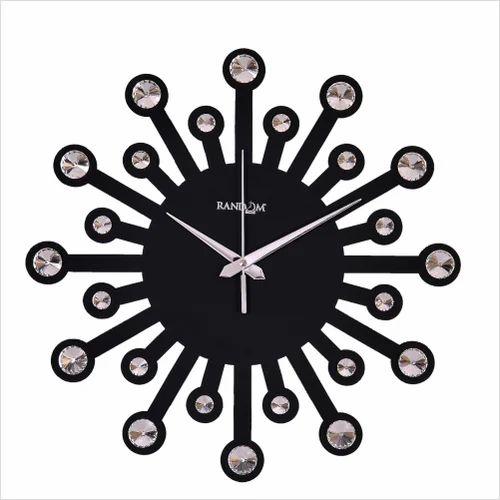 Designer Wooden Wall Clock Lakdi Ki Diwar Ghadi Halos Creations