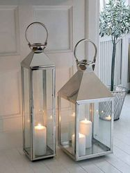 Stainless Steel Indoor Lanterns