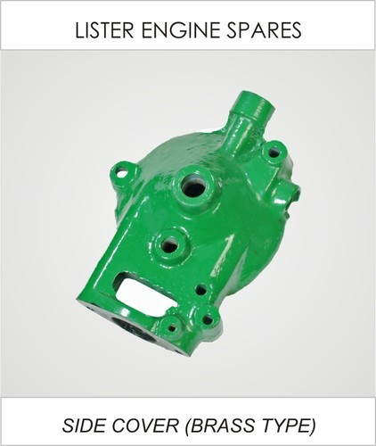 lister diesel engine spare parts - brass type side cover manufacturer from  rajkot