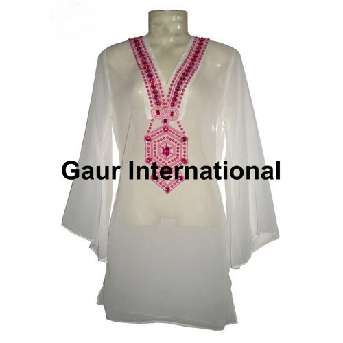 8bb897d10a81c Beaded Beach Wear Kaftan Cover Up at Rs 325 /piece | Sanganer ...