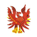 Wood Phoenix Wall Decor, For To Bring Fame And Success