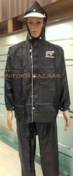 Black Rain Coats Uniform