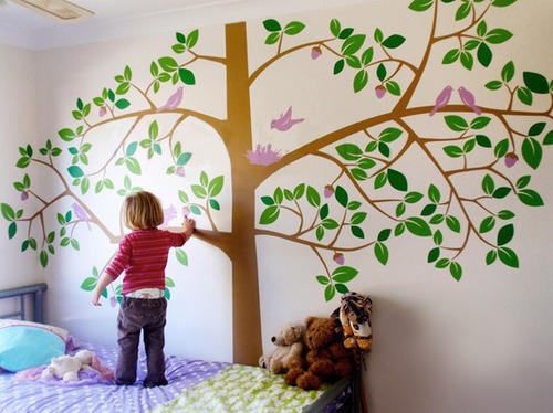 wall stickers - living room wall stickers manufacturer from mysore