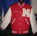Scarlet Letterman jacket