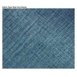 Slub Yarn Denim Fabric