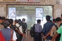 Railway Station Ticket Counter Digital Screen Advertising
