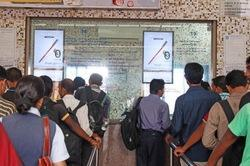 Railway Station Ticket Counter Digital Screen Advertising