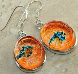 Dihoric Glass Earrings