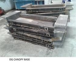Diesel Generator Canopy Sheet Metal Fabrication