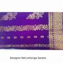 Designer Net Lehenga Sarees