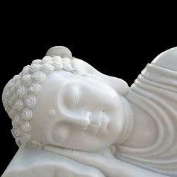 Sleeping Buddha Marble Statue