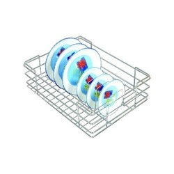 Stainless Steel Wire Plate Basket