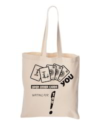 Short Handel Cotton Bag