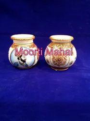 Designer Printed Marble Pots