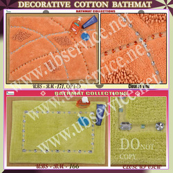 Decorative Cotton Bathmat