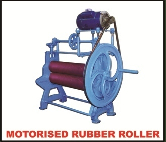 Motorized Rubber Sheeting Roller Machine Kelachandra