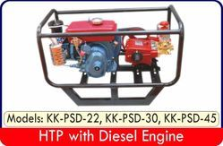 Fully Assembled HTP Sprayers sets With Diesel Engines (4-st)