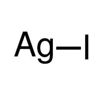 silver iodide Silver iodide (agi) is a yellow, inorganic, photosensitive iodide of silver used in photography, in medicine as an antiseptic, and in rainmaking for cloud seeding.