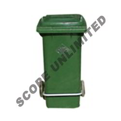 Pedal Dustbins with Wheels