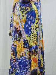 Printed Textile Industry Polyester Spandex Single Jersey Fabric, GSM: 150-200 GSM
