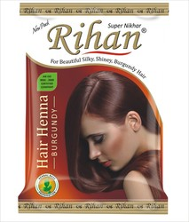 Rihan Burgundy Hair Henna