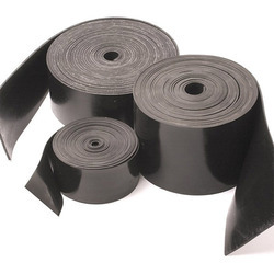 Natural Black Rubber Strip