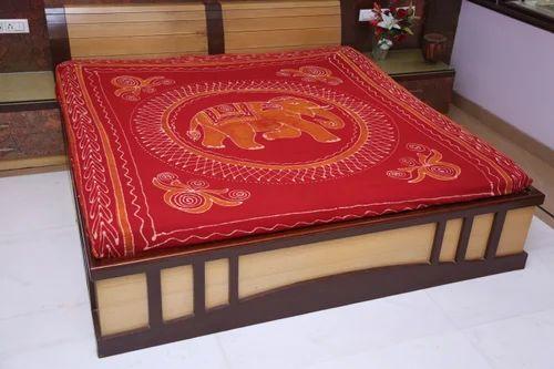 Ujjain Batik Print Bed Sheet