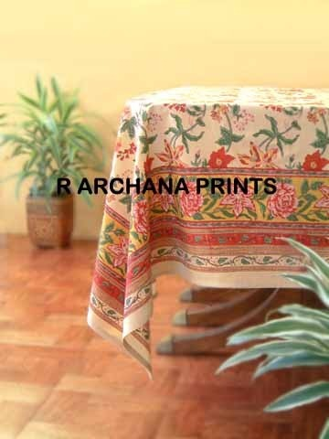 Screen Printed Table Cloth Tablecloths Table Linen Placemats R