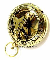 Sundial Push Button Compass
