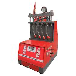 Semi Automatic Fuel Injector Cleaner And Tester Machine