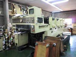Akiyama Bestech 28 Four Colour Offset Printing Machine