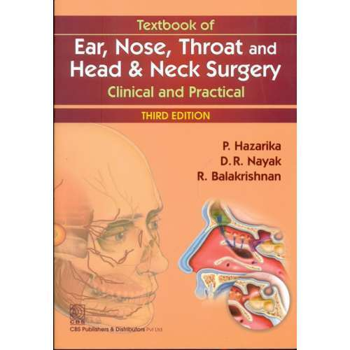 Textbook Of Ear Nose Throat And Head Neck Surgery Clinical Cbs