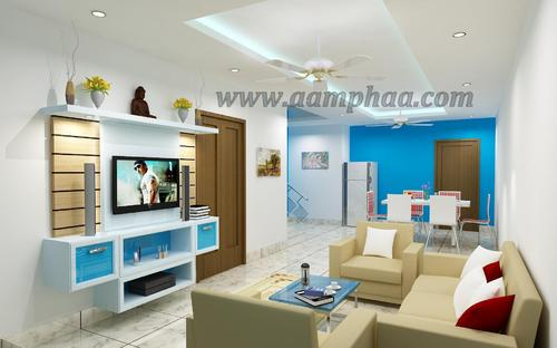 Modern tv units decor in koyambedu chennai id 3757955388 for Wooden false ceiling designs for living room india