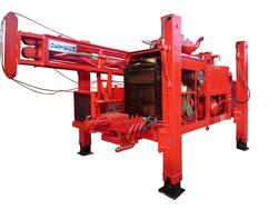 Skid Mounted Rig, Hydraulic Model Drilling Rig Equipment