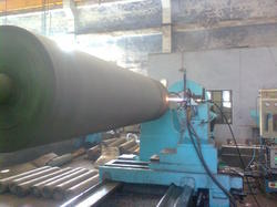 HVOF Coating of Paper Mill Roll