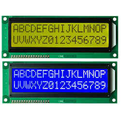 16x2 Jumbo Character LCD Display (JHD)