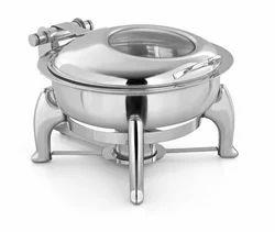 Hydraulic Glass Lid Chafing Dish