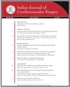 Indian Journal Of Cerebrovascular Surgery